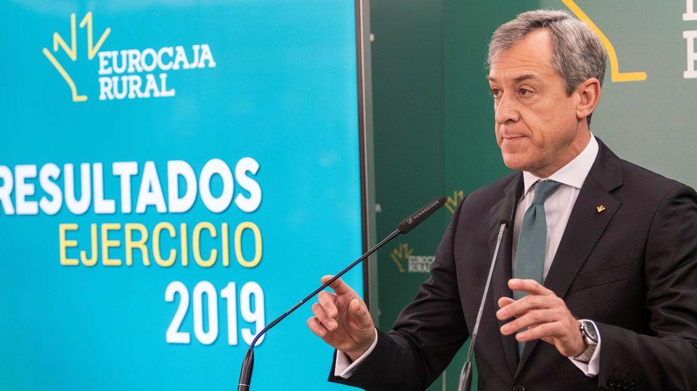 Foto: El presidente de Eurocaja Rural, Javier López