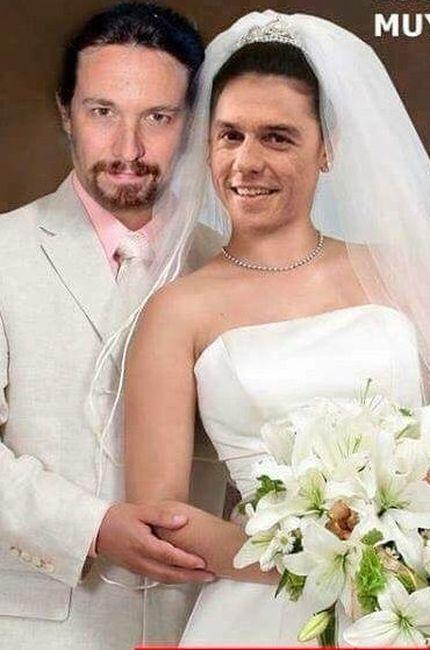 La boda de Pablo Iglesias y Pedro Sánchez.