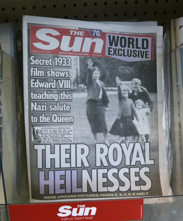 Foto: La polémica foto publicada por 'The Sun' (Gtres)