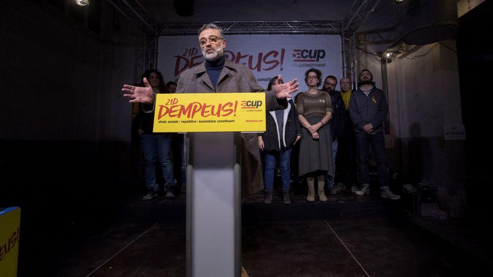 La CUP solo votará 'leyes de república' y complica (más) la mayoría 'indepe'
