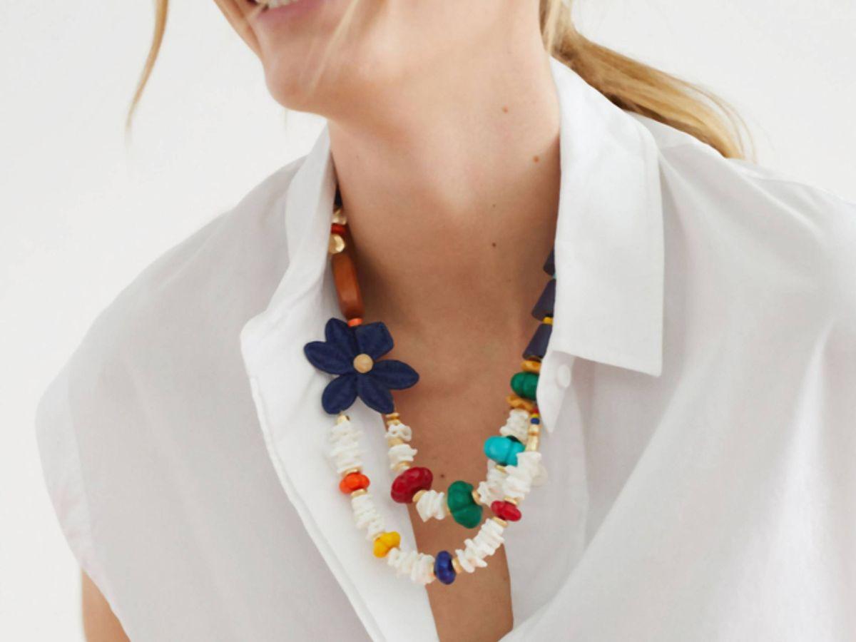 Foto: Este collar de Parfois es una de esas compras imprescindibles. (Cortesía)