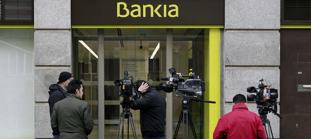Foto: Sucursal de Bankia en la calle Príncipe de Vergara de Madrid (EFE)