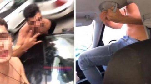 Detenido por conducir con una mano asomando medio cuerpo por la ventanilla