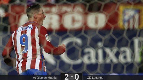 Torres no quiere poner fin a su sueño rojiblanco y con un doblete avisa al Cholo