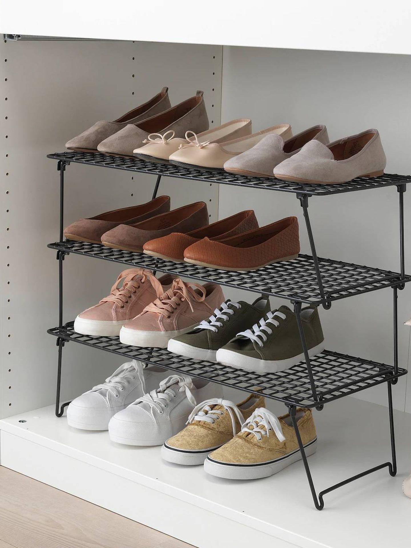 Un armario siempre ordenado con Ikea. (Cortesía)