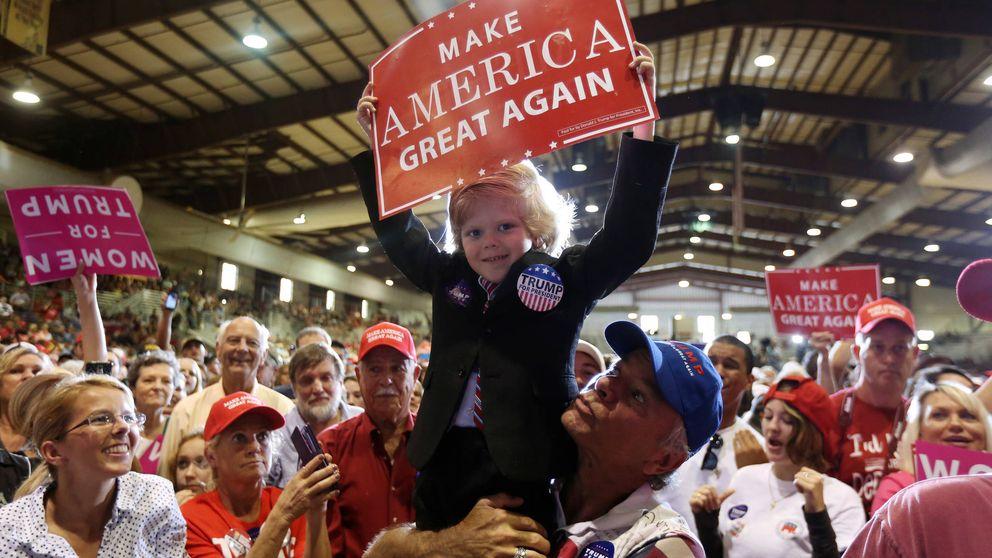¿Puede el 'voto oculto' dar la victoria a Trump?