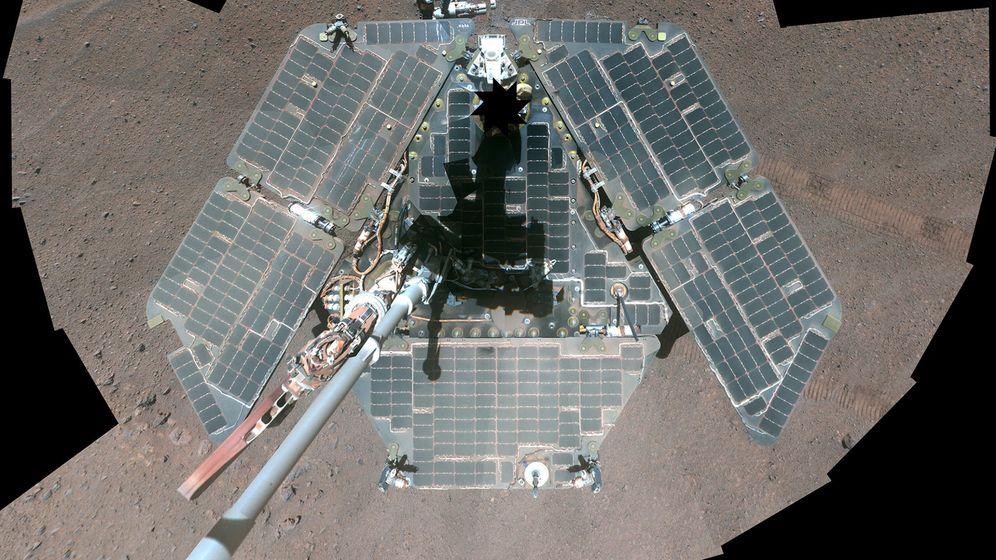 Foto: El robot Opportunity. (Reuters)