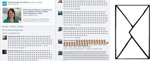 Foto: Las redes sociales inundan al PP de sobres en protesta por el caso Bárcenas