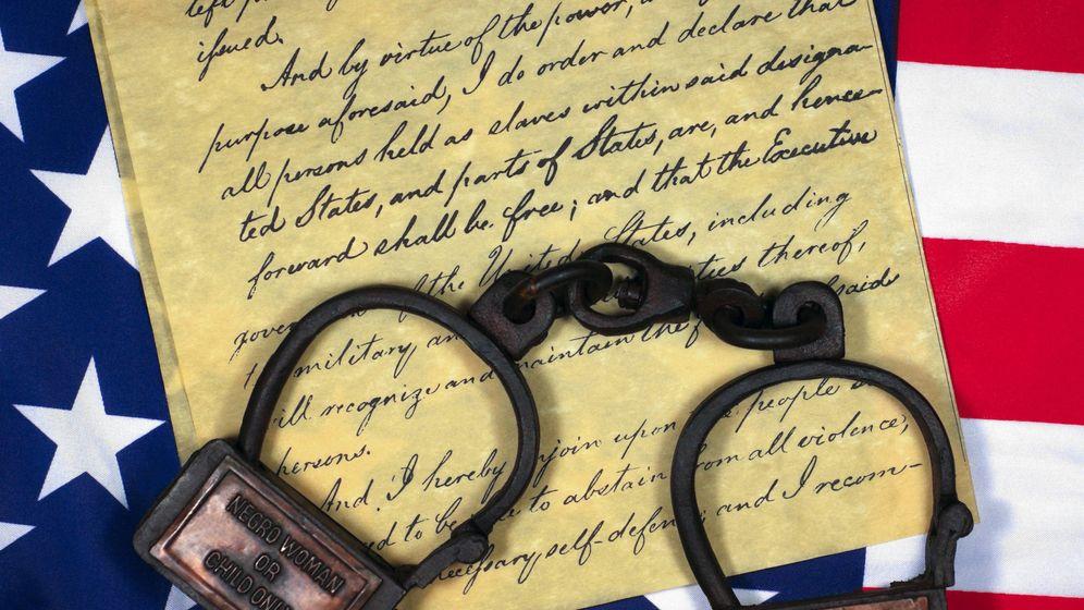 Foto:  La proclamación de la abolición de la esclavitud. (iStock)
