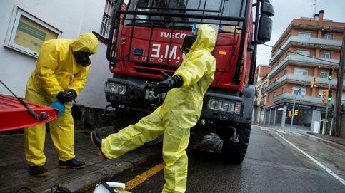 La Generalitat veta al Ejército y lo obliga a desmantelar un hospital de campaña
