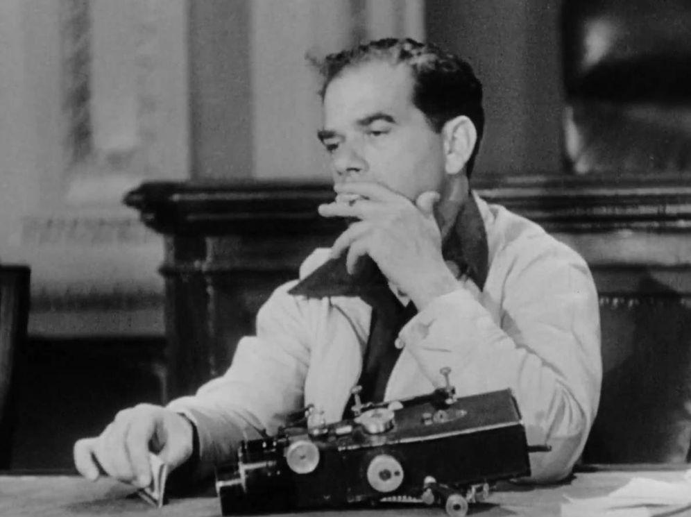 Foto: Frank Capra, director de 'Qué bello es vivir', entre otras películas populistas.