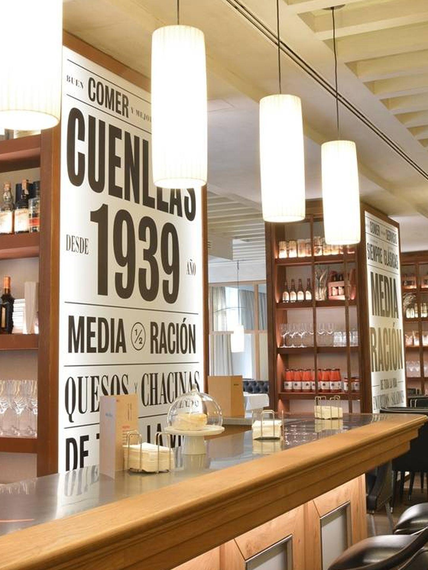 El restaurante Media Ración en el hotel Urso.