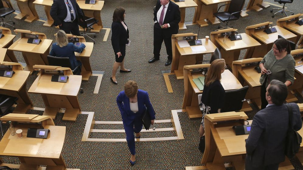 Foto: El parlamento de Edimburgo. (EFE)