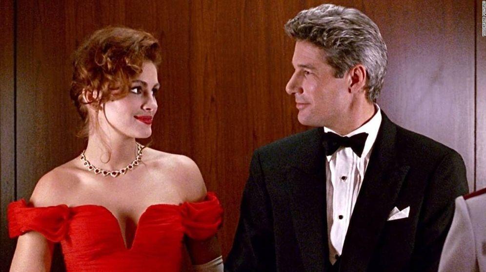 Foto: Julia Roberts y Richard Gere, en 'Pretty Woman'. (Cortesía)