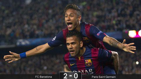Un 'doblete' de Neymar basta para aniquilar a un PSG que no fue rival