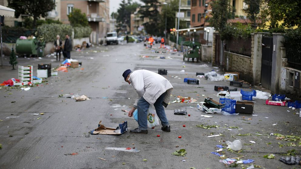 Italia dice basta al derroche de alimentos