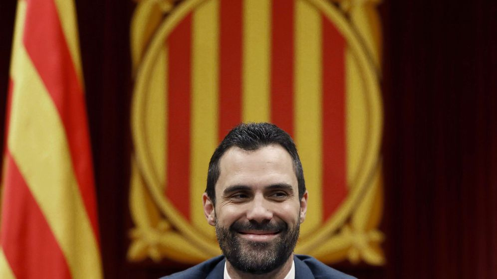 Foto: El presidente del Parlament, Roger Torrent. (EFE)