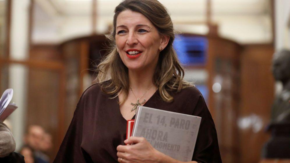 Foto: Yolanda Díaz, ministra de Trabajo