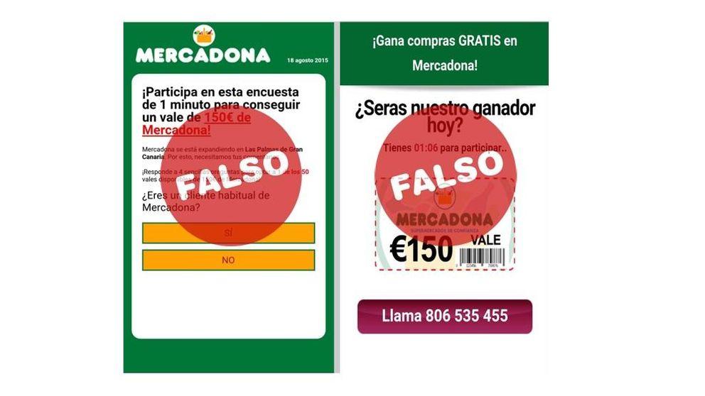 ¡No piques! Un mensaje trampa promete falsas promociones de Mercadona