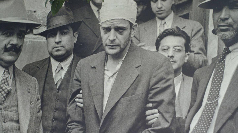 Ramón Mercader durante su arresto. (Wikipedia)