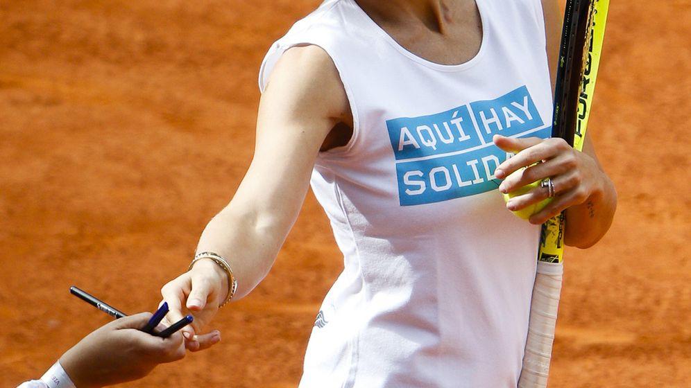 Foto: Concentración de famosos en el 'Charity Day' de tenis