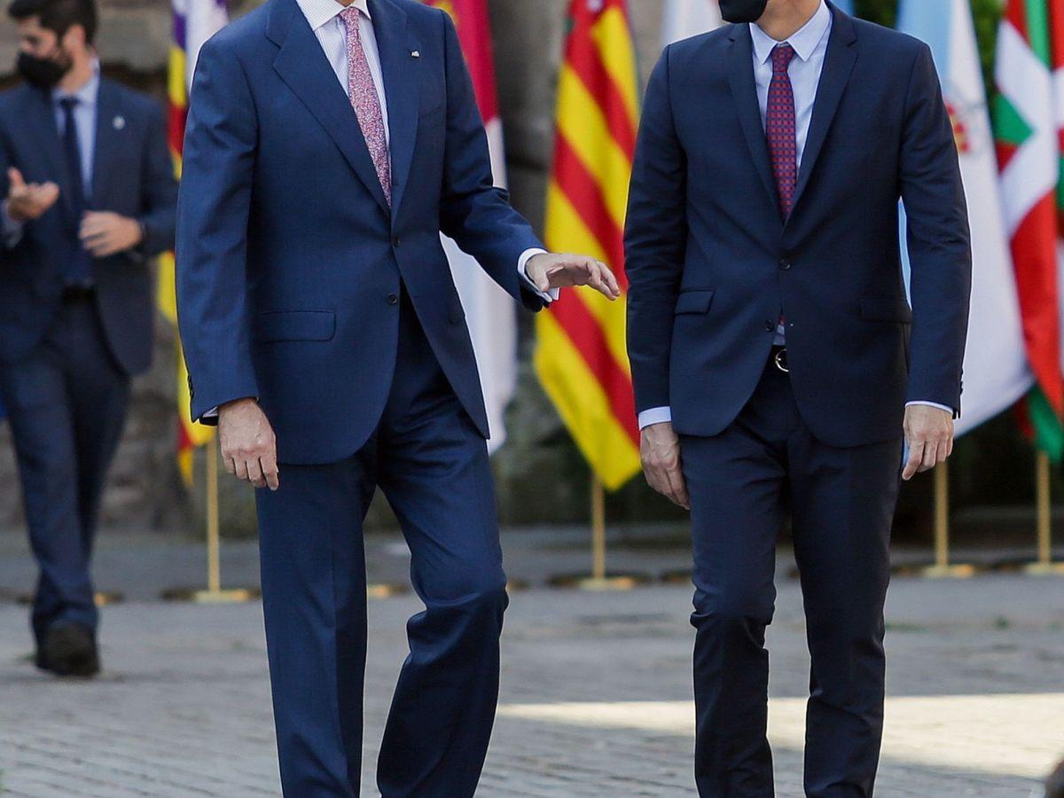 Foto: El rey Felipe VI y el presidente del Gobierno, Pedro Sánchez, en una foto de archivo. (EFE)