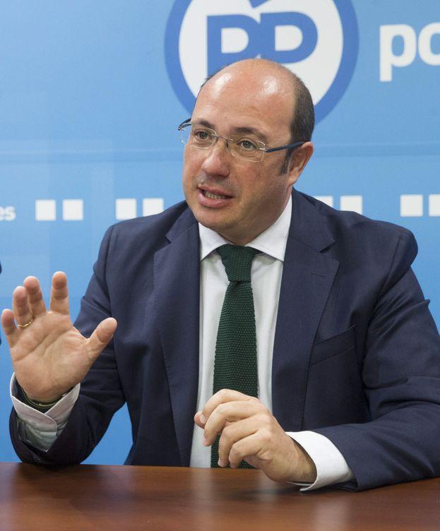 Foto: El presidente de Murcia, Pedro Antonio Sánchez. (EFE)