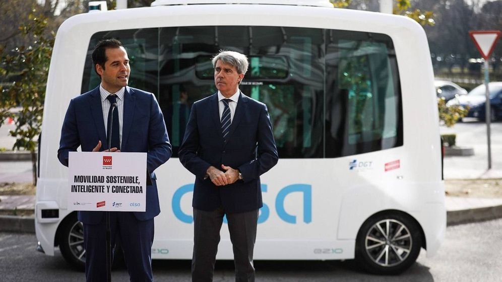 Foto: El primer autobús eléctrico que circulará en tráfico abierto (Comunidad de Madrid)