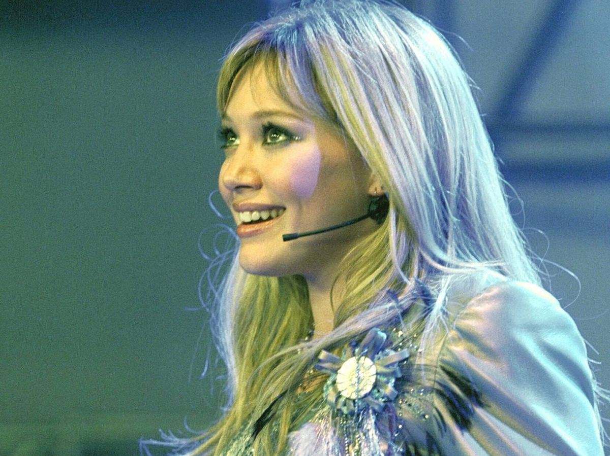 Foto: Hilary Duff, en un fotograma de 'Lizzie Superstar'. (Cordon Press)