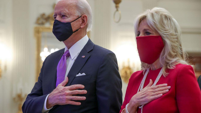Kamala Harris y Jill Biden, día 1: looks a juego y guiño a Michelle Obama