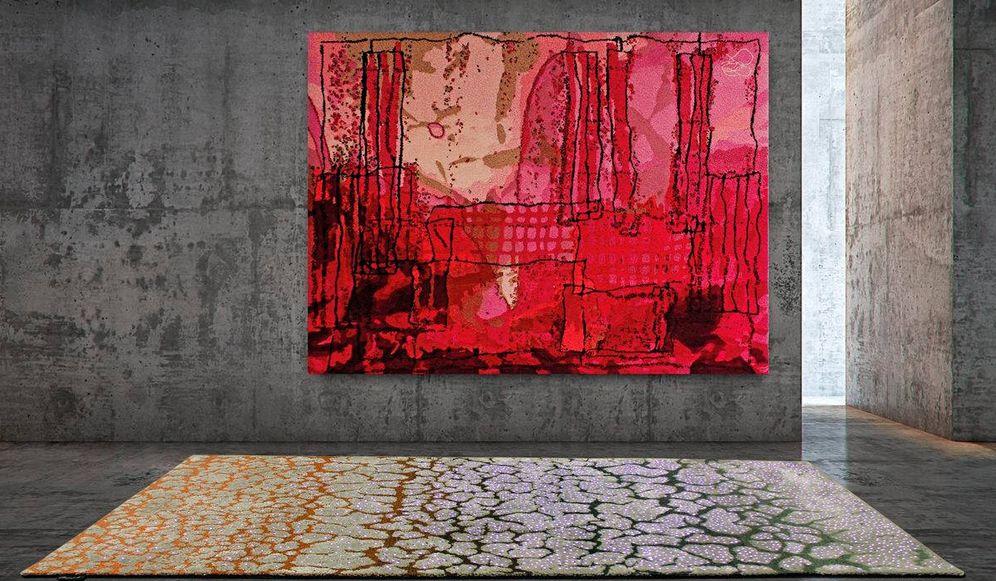 Foto: Las alfombras de Ferreira de Sá también pueden convertirse en obras de arte como cuadros. (Ferreira de Sá)
