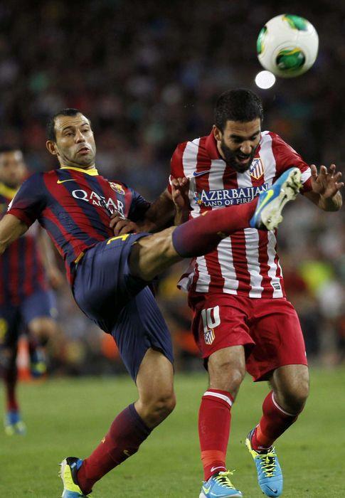 Foto: Mascherano, en la Supercopa de España el mes pasado.