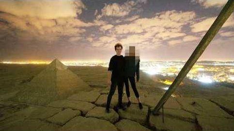 Escándalo en Egipto por el vídeo de una pareja desnuda en una pirámide de Giza