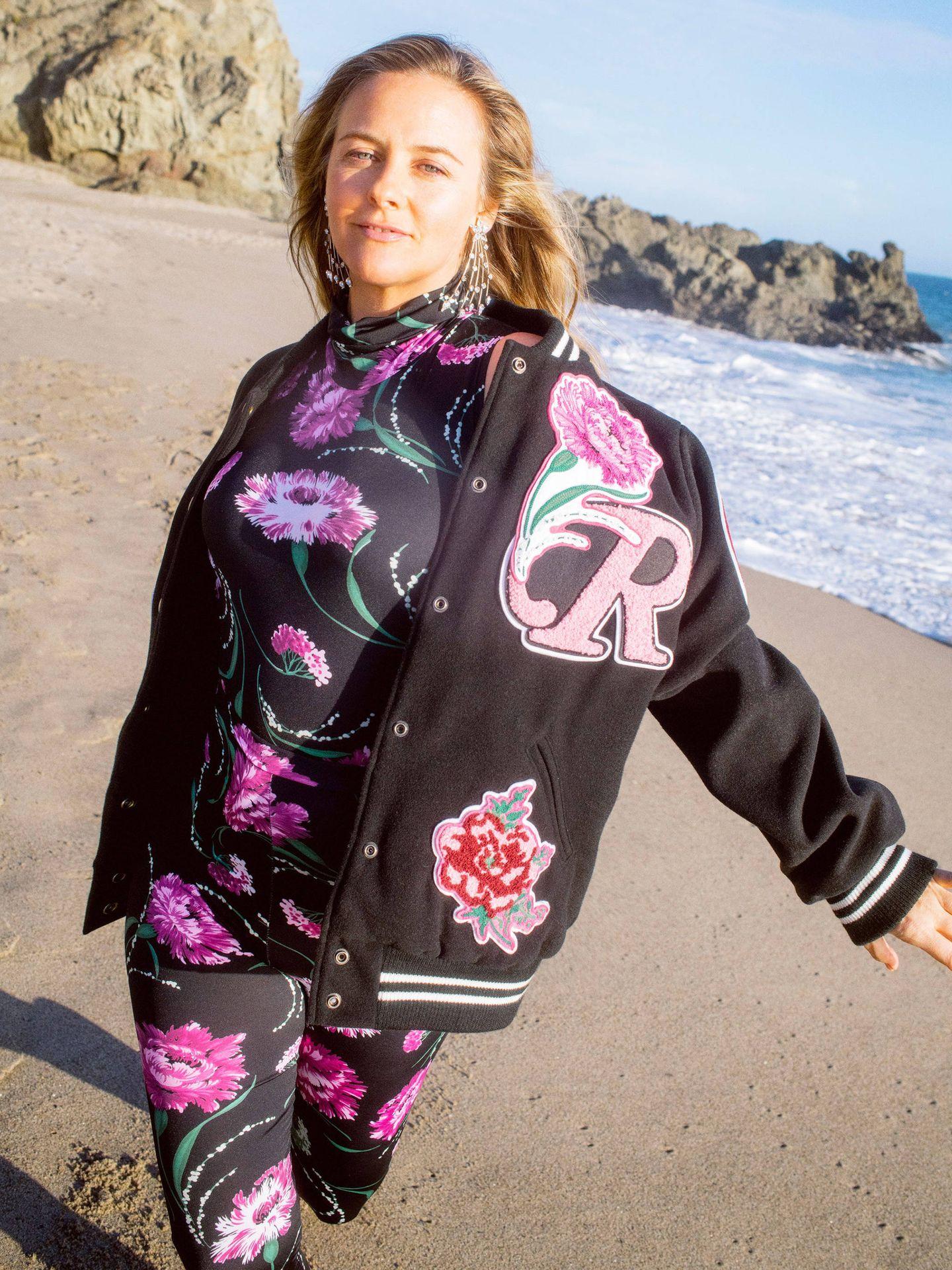 Alicia Silverstone. (Cortesía de Rodarte)