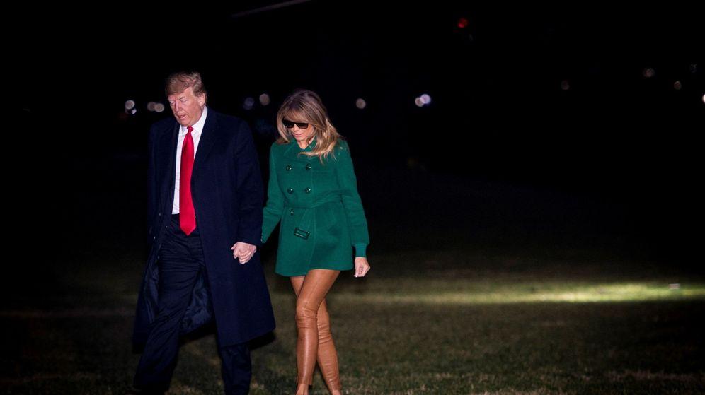 Foto: Donald Trump y Melania Trump. (EFE)