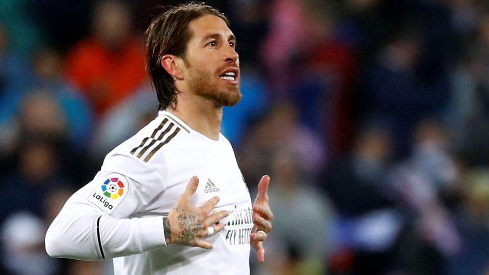 Foto: Sergio Ramos, capitán del Real Madrid, en un partido disputado en el Bernabéu. (REUTERS)