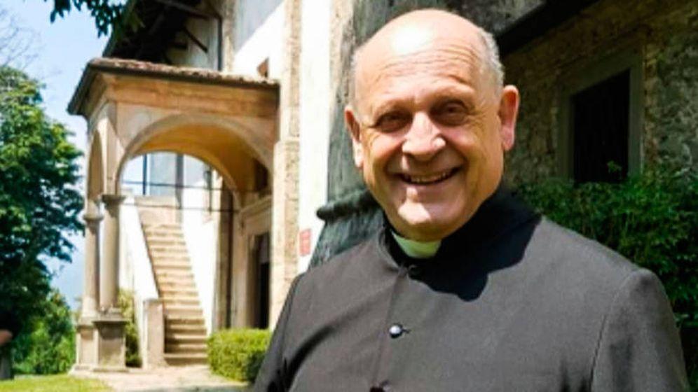 Foto: Giuseppe Berardelli fue despedido por sus vecinos como un auténtico héroe (Foto: Twitter)