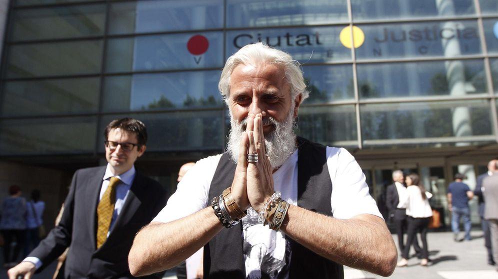 Foto: El arrepentido Marcos Benavent, en la Ciudad de la Justicia de Valencia. (EFE)