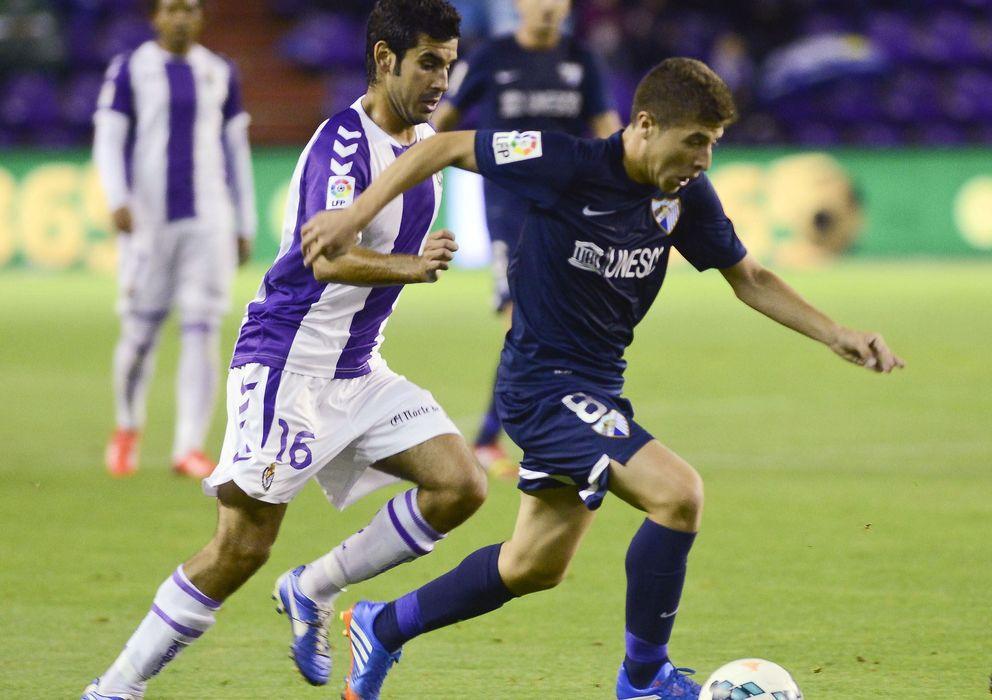 Foto: Valladolid y Málaga empatan un partido agitado que pudo ganar cualquiera.