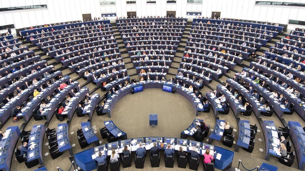 Foto: Imagen del Parlamento Europeo. (EFE)