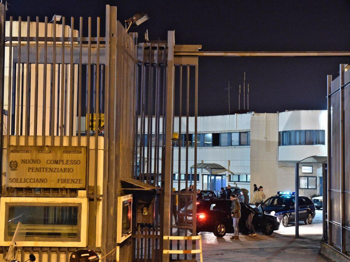 Foto: Foto de archivo de la cárcel de Sollicciano, Florencia (EFE)