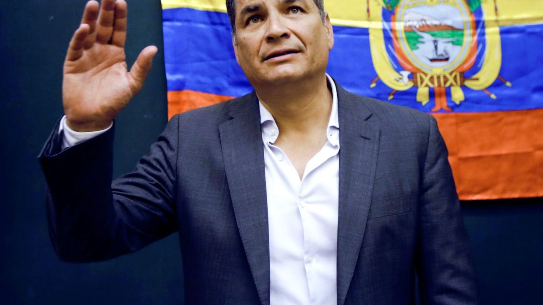 La justicia de Ecuador pedirá a Interpol el arresto de Rafael Correa en Bruselas