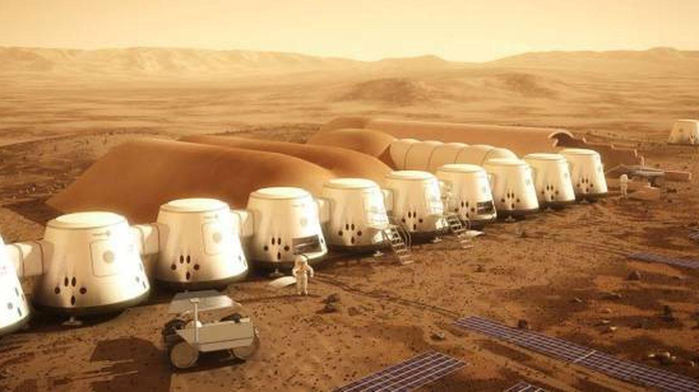 Prototipo del proyecto Mars One. (Mars One)
