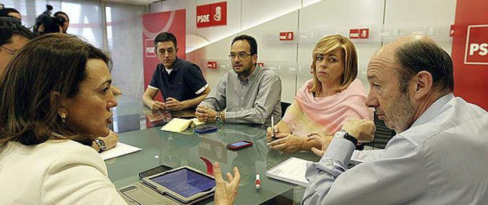Foto: Rubalcaba rompe con el PP y exige la dimisión inmediata de Rajoy