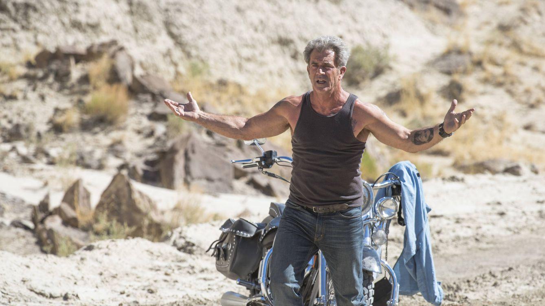 Foto: Mel Gibson en un fotograma de 'Blood Father' (2016)