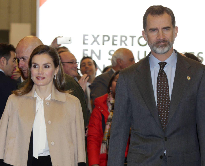 Foto: Felipe y Letizia en una imagen de archivo (Gtres)
