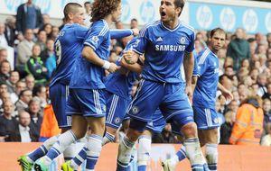 El Chelsea, con Torres expulsado, empata ante un buen Tottenham