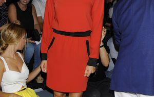 Melani Costa 'desfila' por la Mercedes Benz Fashion Week