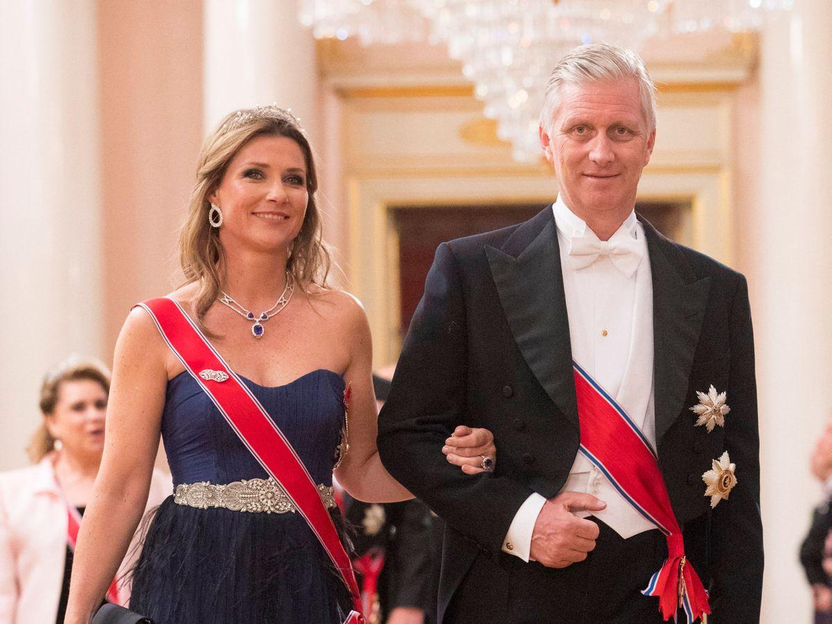 Foto: Marta Luisa de Noruega y Felipe de Bélgica, en una imagen de archivo. (Reuters)
