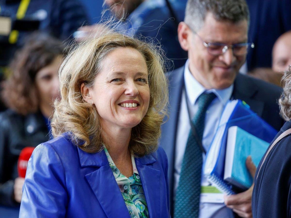 Foto: Reunión de ministros de Economía y Finanzas de la eurozona.